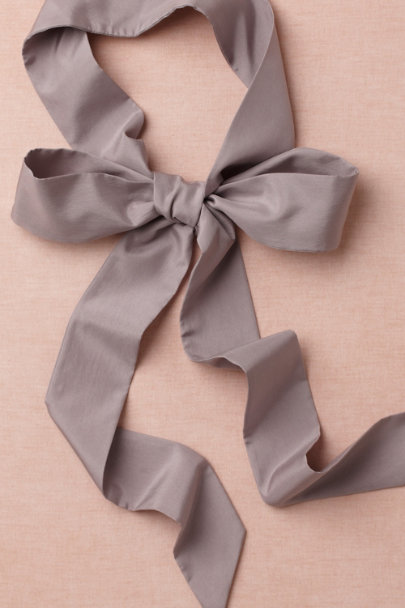 smokey lavender Simply Silk Sash | BHLDN