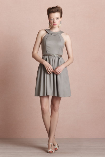 pewter Promenade Dress | BHLDN