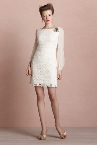 ivory Marianne Dress | BHLDN