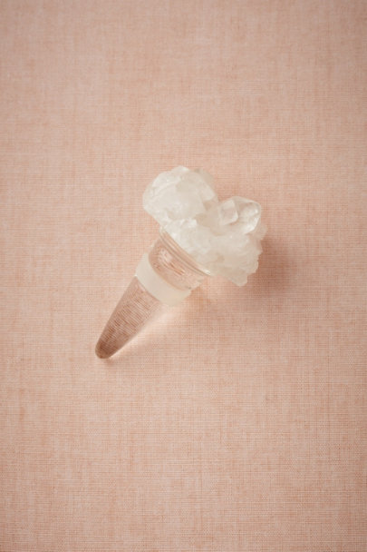 silver Solstice Bottle Stopper | BHLDN