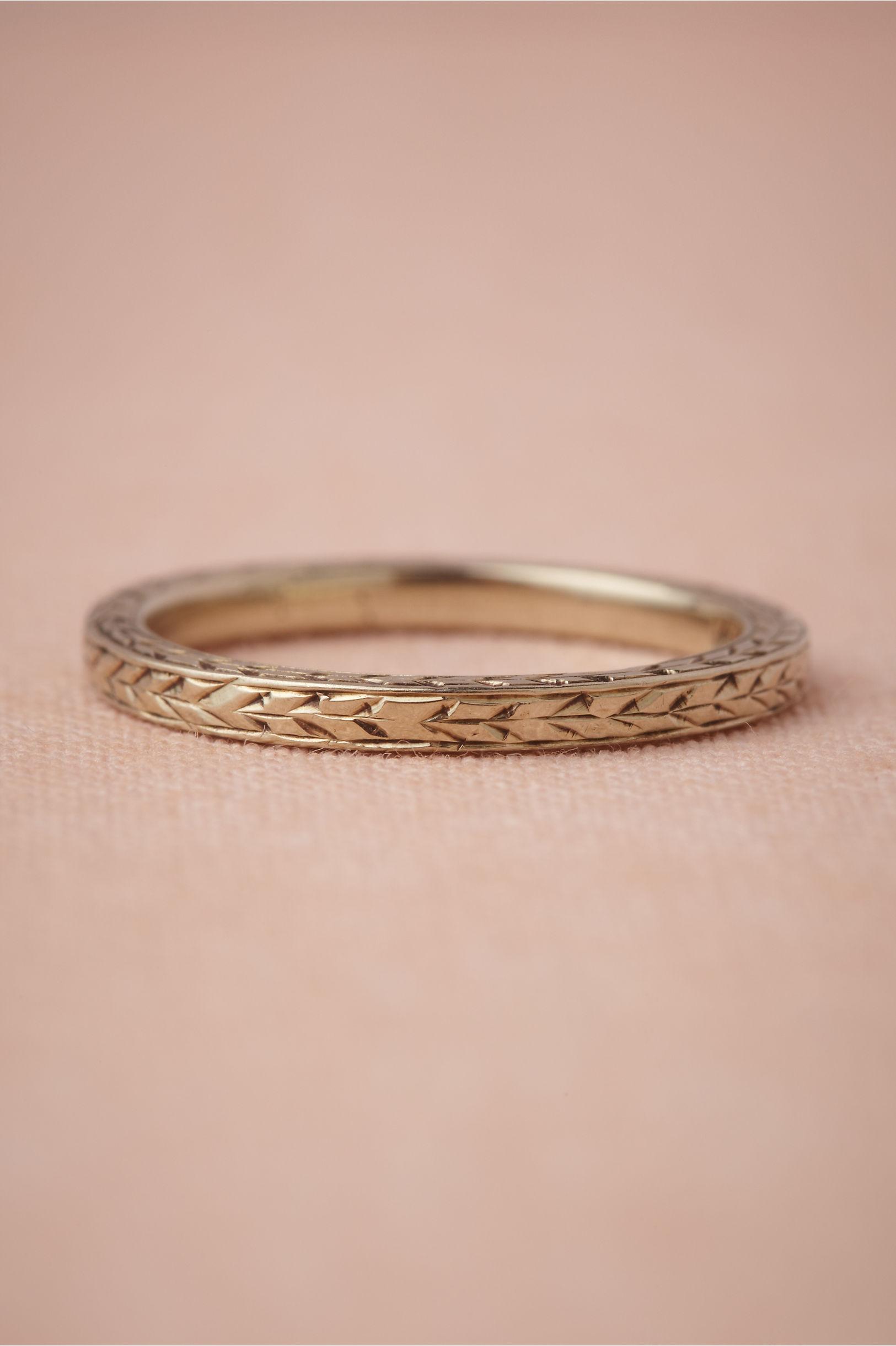 Wild Emmer Ring in Bride | BHLDN