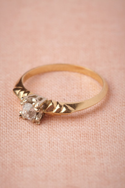 gold Bayonet Ring | BHLDN