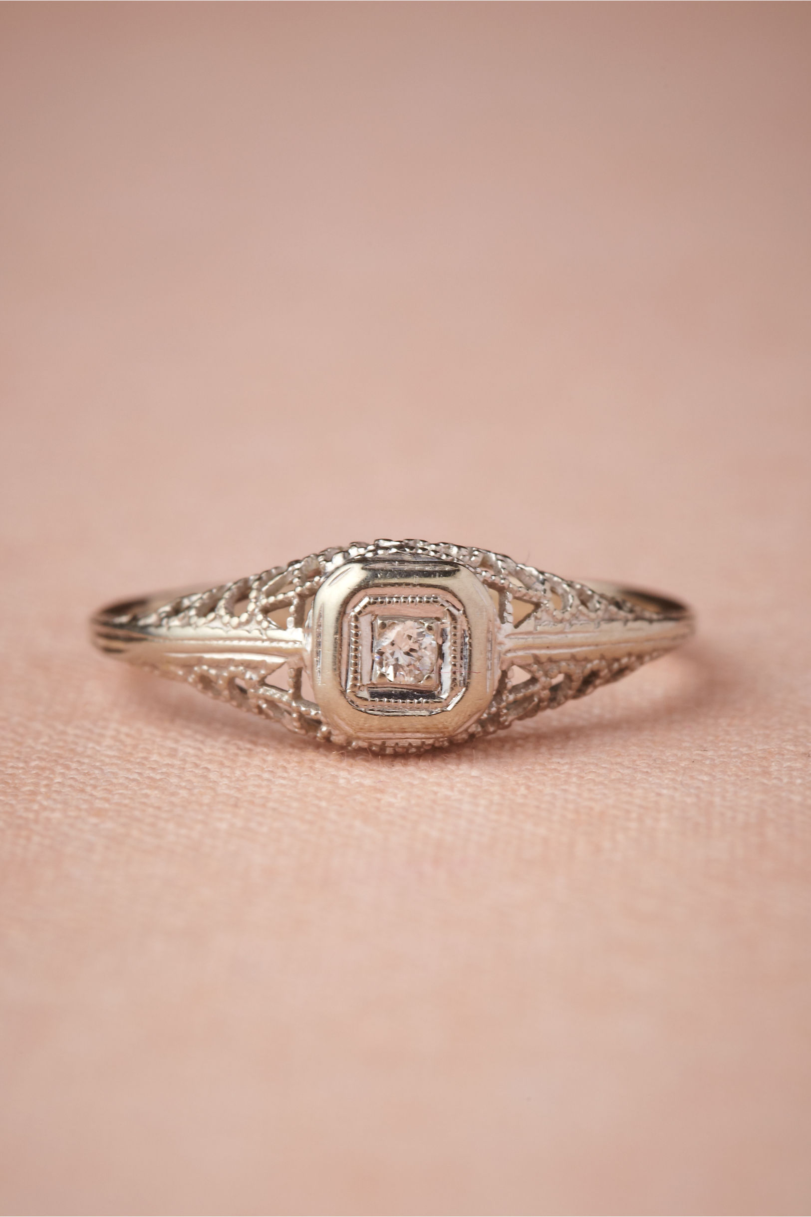 Lyrical Framework Ring in Bride | BHLDN
