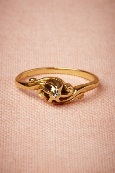 gold Windfall Ring | BHLDN