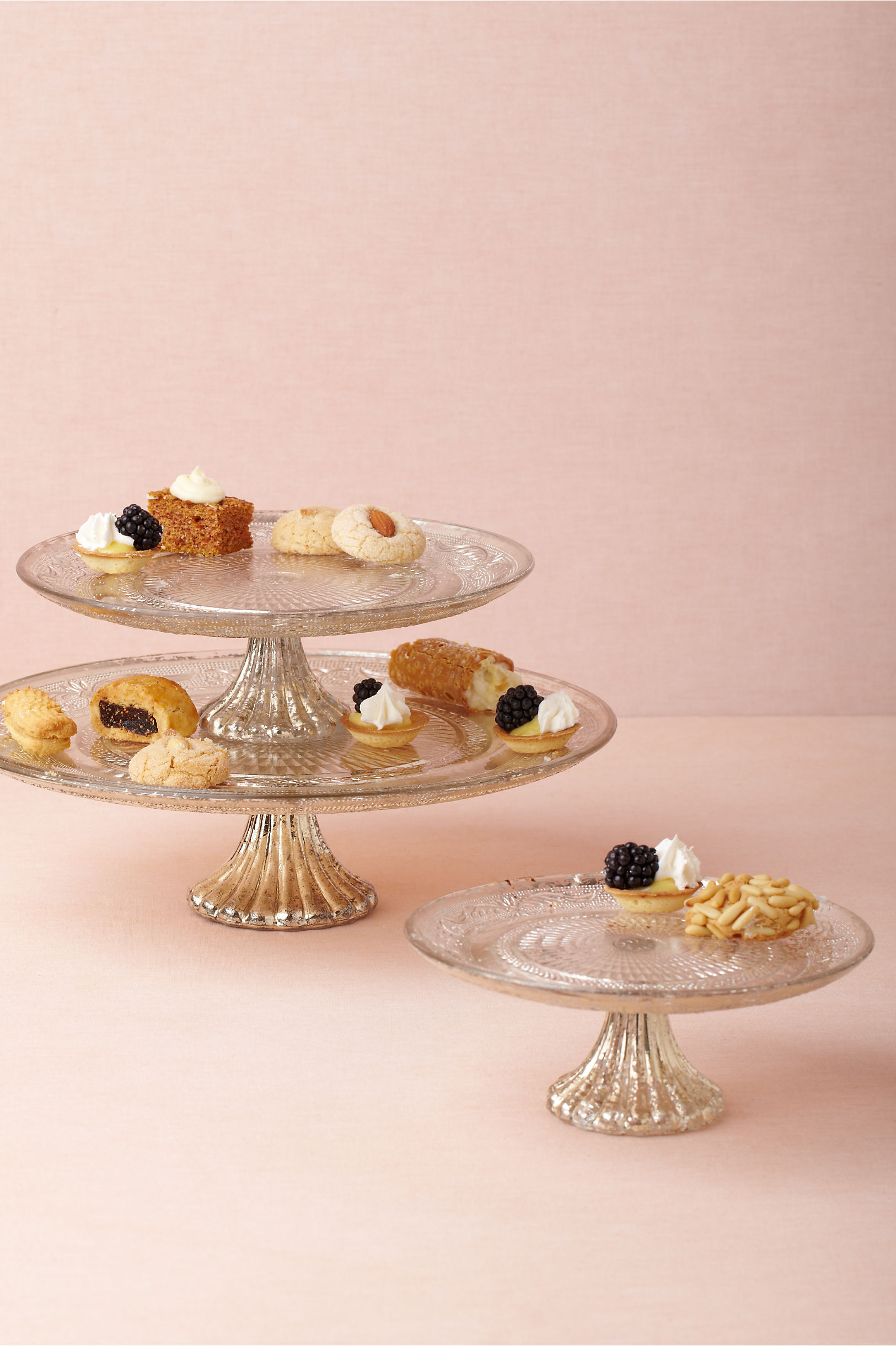 Quicksilver Cake Stands in Décor & Gifts