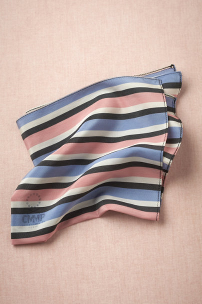 blue motif Neapolitan Pocket Square | BHLDN