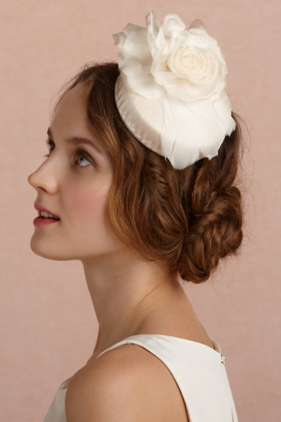 Kitty Andrews blush Gramercy Pillbox | BHLDN