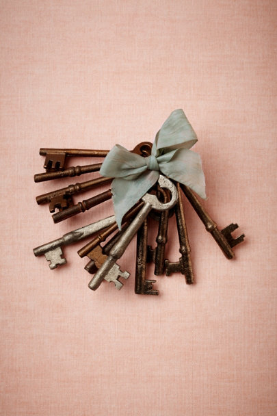 silver Proprietor's Keys (12) | BHLDN