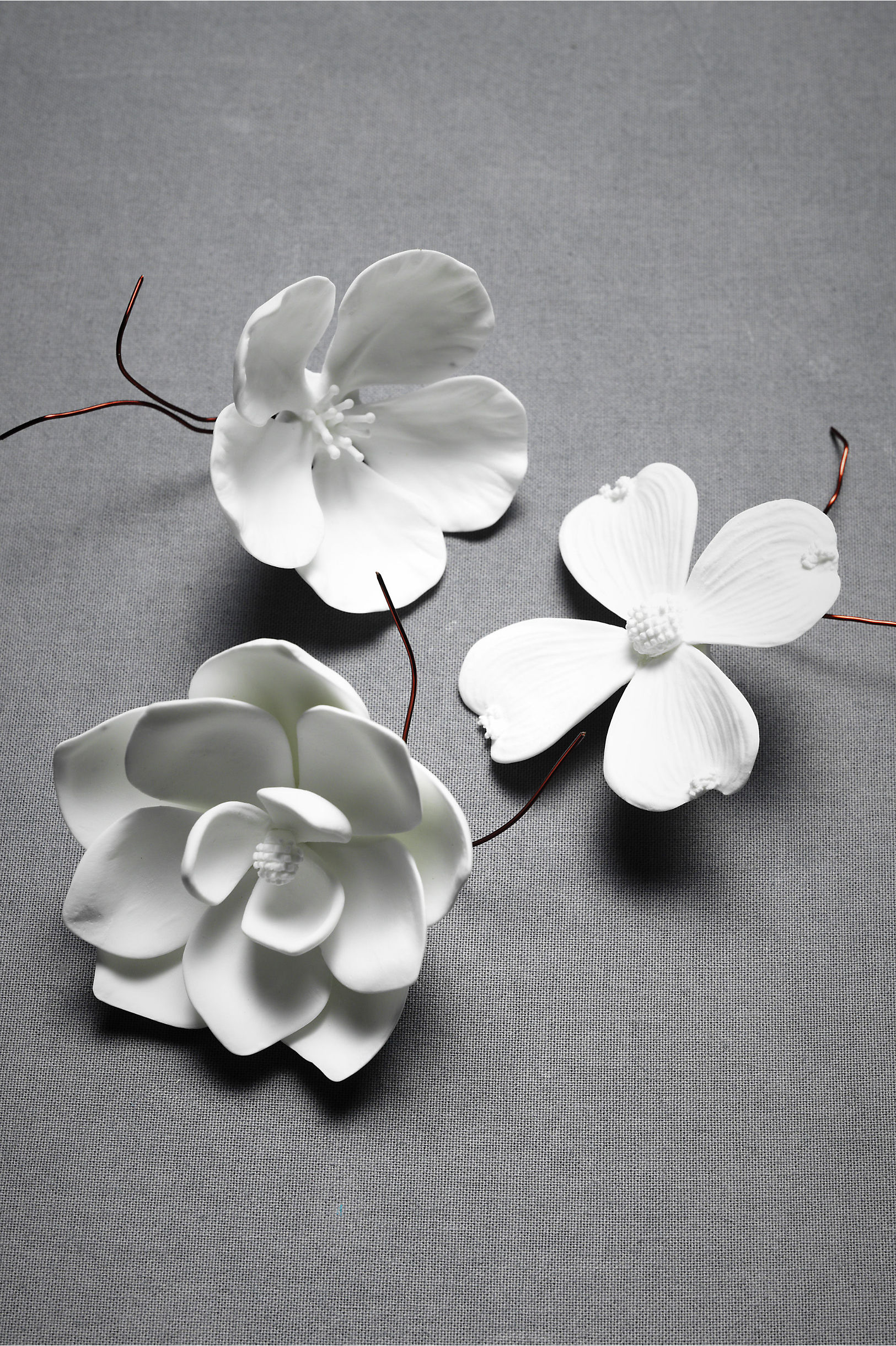 Porcelain bloom in dcor gifts bhldn white porcelain bloom bhldn mightylinksfo