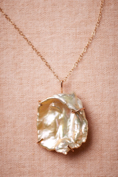 Melissa Joy Manning pearl Neptune's Prize Necklace | BHLDN
