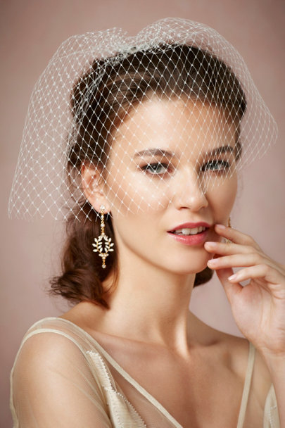 Debra Moreland ivory Lady Luck Blusher | BHLDN
