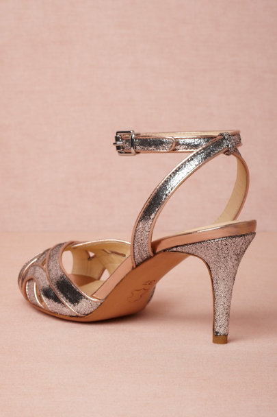 silver Supper Club Sandals | BHLDN