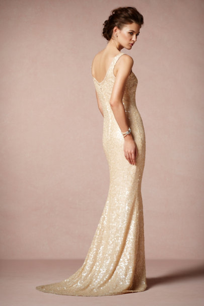Badgley Mischka Rose Cyprium Gown | BHLDN