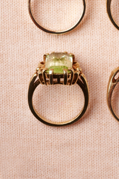 green Isolde Ring | BHLDN