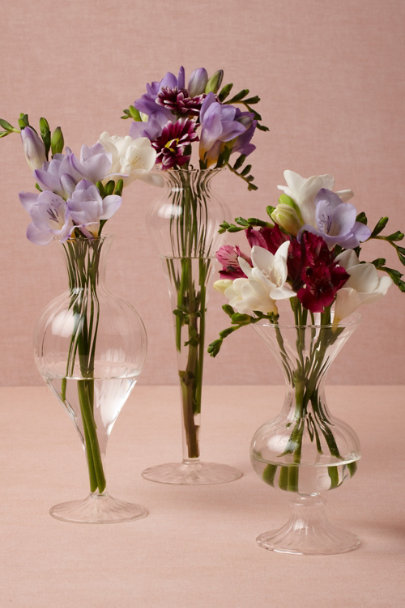 clear Supple Light Vases | BHLDN