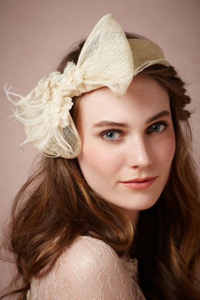 Mademoiselle Slassi ivory Charleston Headband | BHLDN