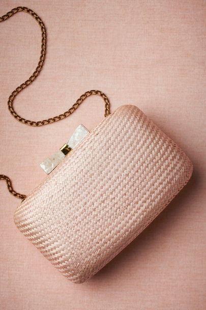 blush Sanibel Clutch | BHLDN