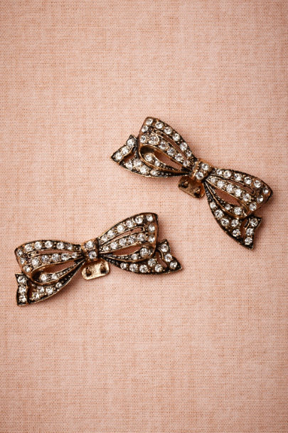 Azaara BRONZE Antique Bronze Shoe Clips (2) | BHLDN