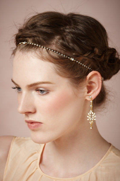 Jennifer Behr gold Nightfall Strand | BHLDN