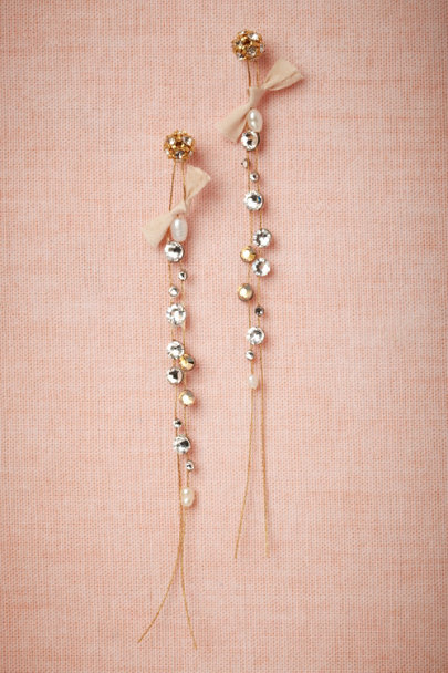 Cécile Boccara gold Willowy Earrings | BHLDN