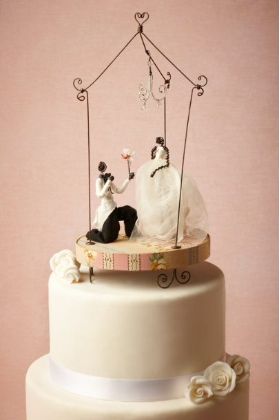 multi Ever After Cake Topper | BHLDN