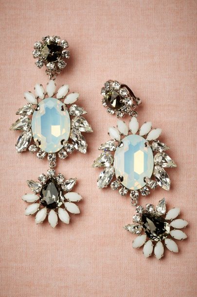 KORMELITZ silver Marquise Earrings | BHLDN