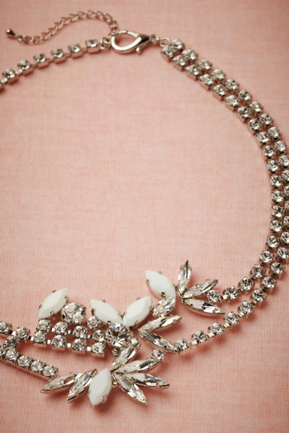 KORMELITZ silver Ume Blossom Necklace | BHLDN