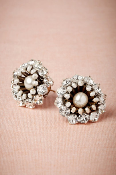 Tataborello clear Supernova Earrings | BHLDN
