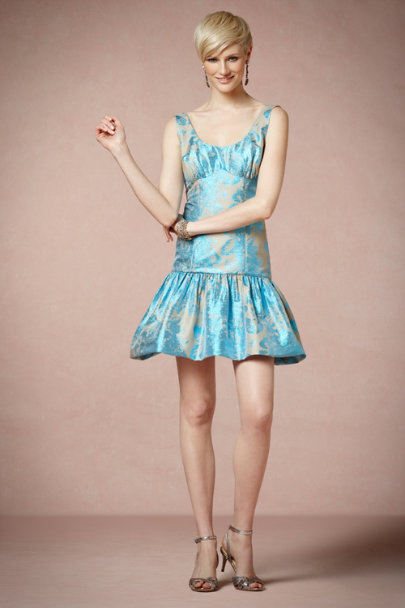 Tracy Reese Turquoise Fanfare Dress | BHLDN