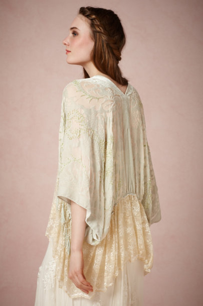 Kite and Butterfly mint Crème de Menthe Topper | BHLDN