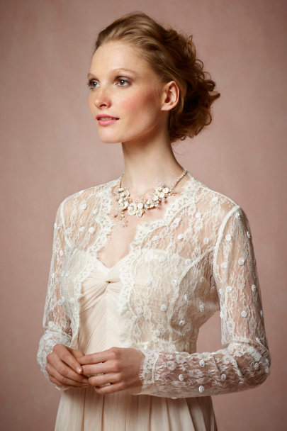 Ivory Garniture Cover Up | BHLDN