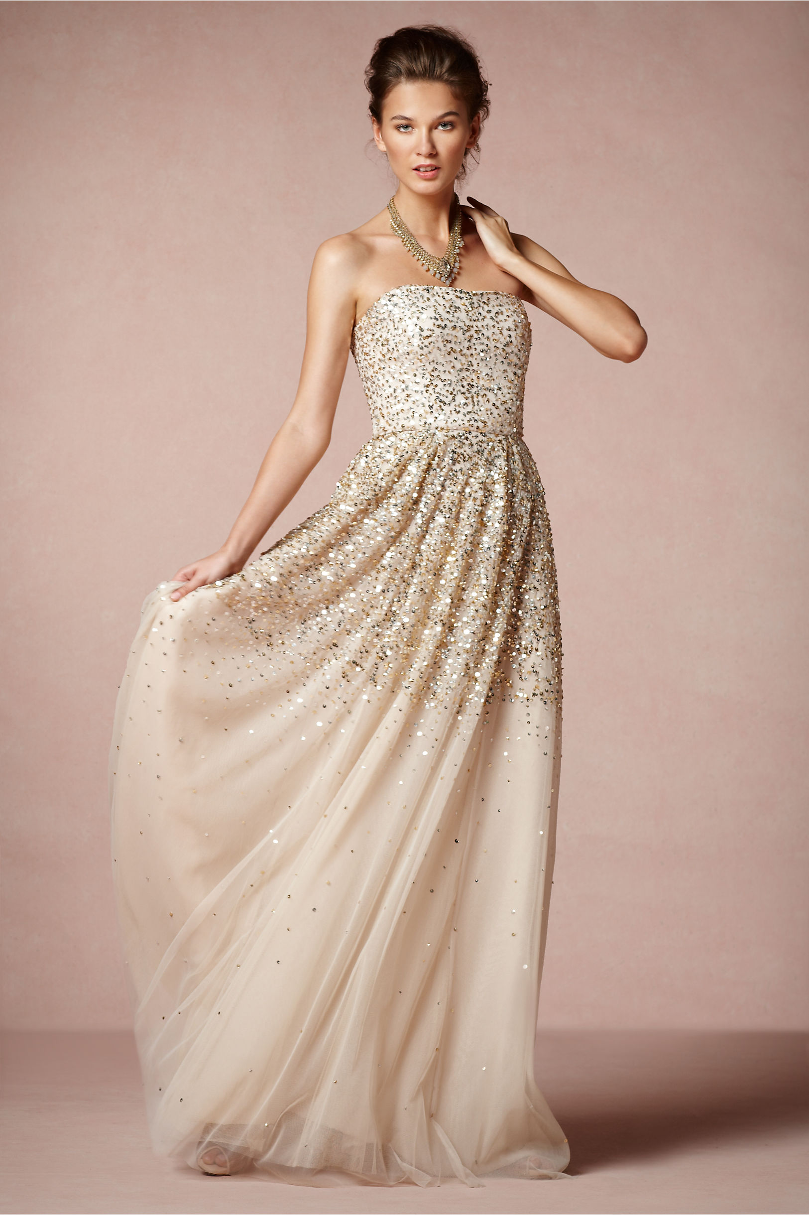 Isadora gown in bride bhldn rachel gilbert champagne isadora gown bhldn junglespirit Images