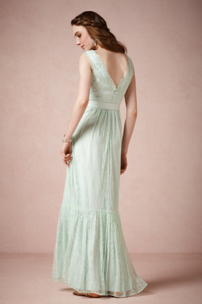 McGinn serene blue Idlewild Dress | BHLDN