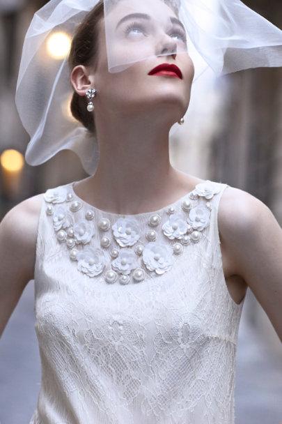 Peter Som Ivory Twiggy Dress