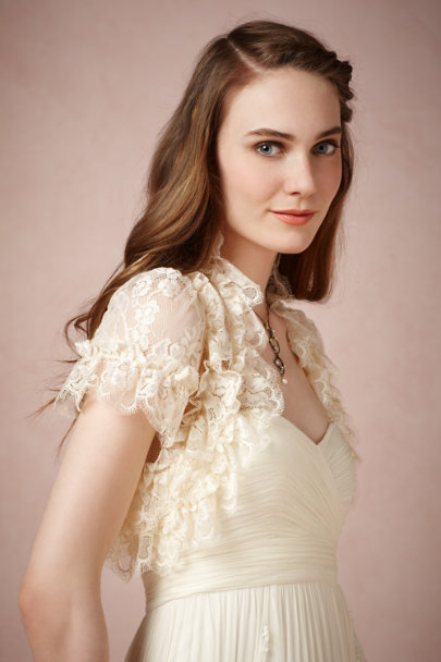 James Coviello ivory Celestial Cover Up | BHLDN