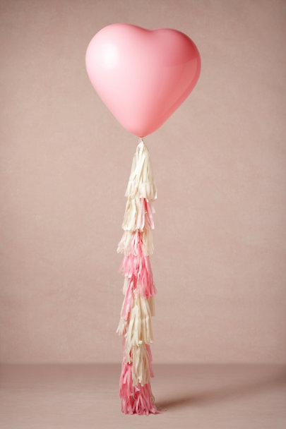 pink/ivory Over-the-Moon Balloon | BHLDN