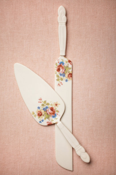 Redraven Tiny Bloom Primrose Serving Set | BHLDN