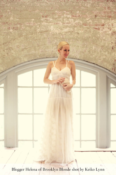 ivory Novecento Gown | BHLDN
