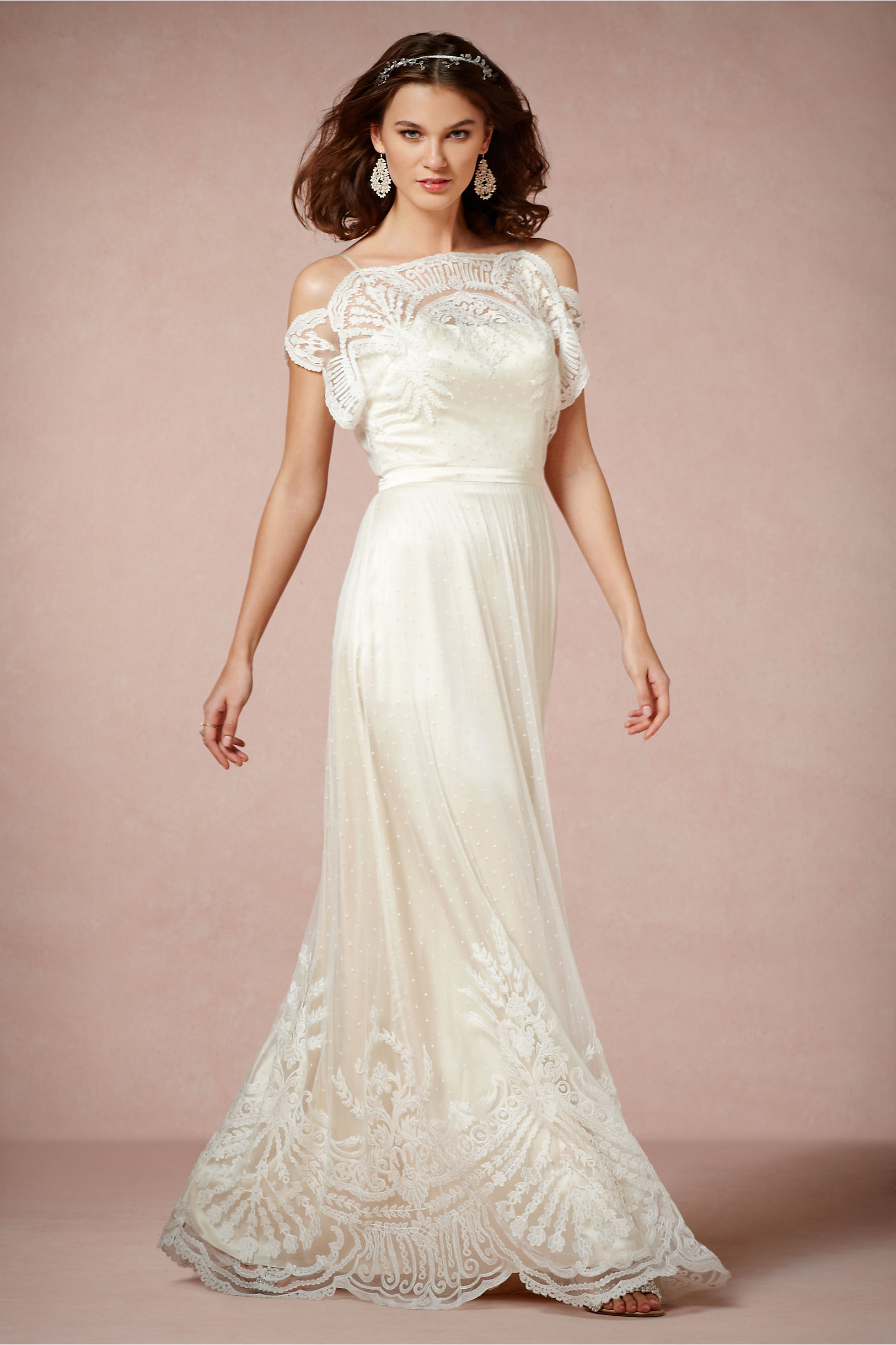Catherine Deane Ivory Omelia Gown