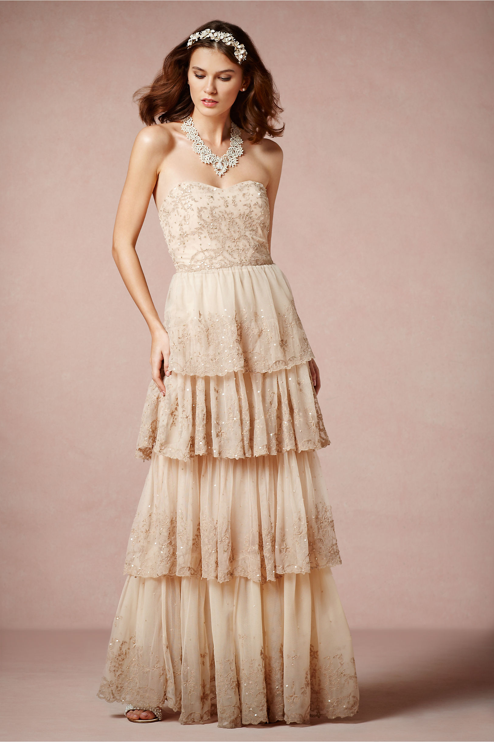 Rosecliff Gown in Bride | BHLDN