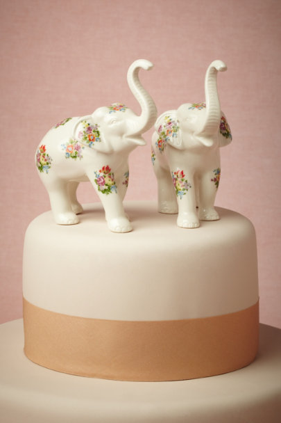 multi By Heart Cake Topper | BHLDN