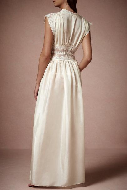 Boudoir robe in bride bhldn for Bra for wedding dress shopping