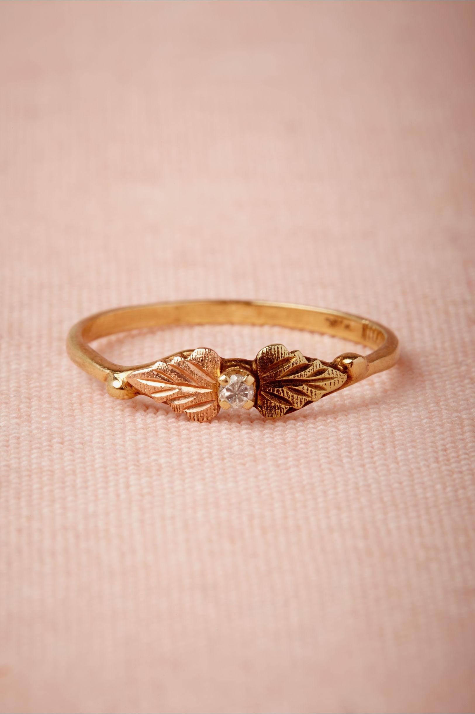Cordate Ring in Bride | BHLDN
