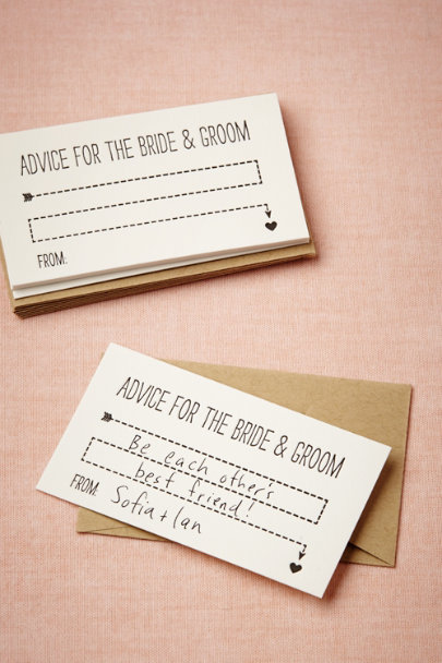 Ivory Words of Wisdom Cards (10) | BHLDN