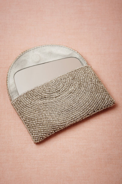 silver Metallurgy Compact | BHLDN