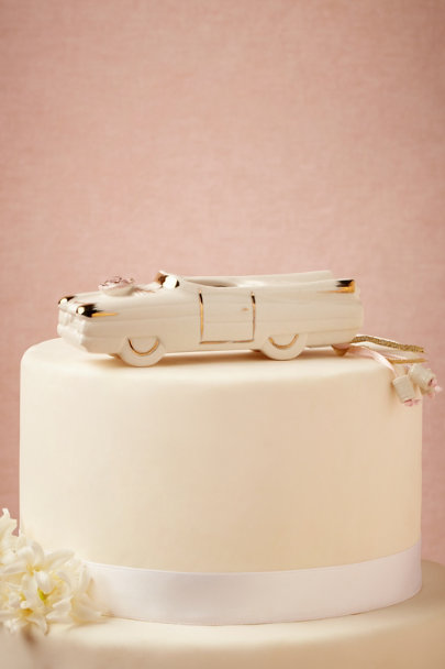 ivory Convertible Cake Topper | BHLDN
