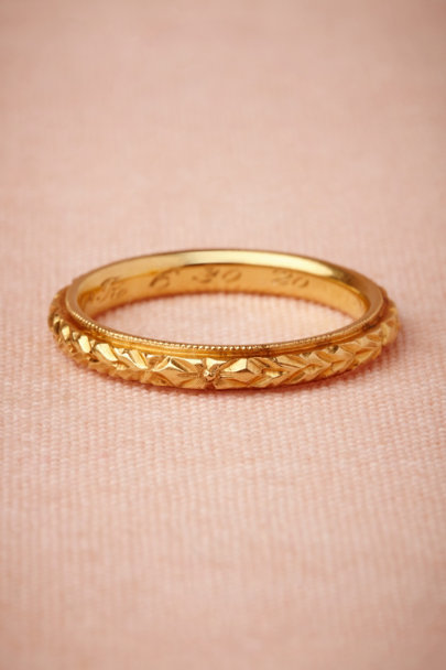 gold Marion Ring | BHLDN