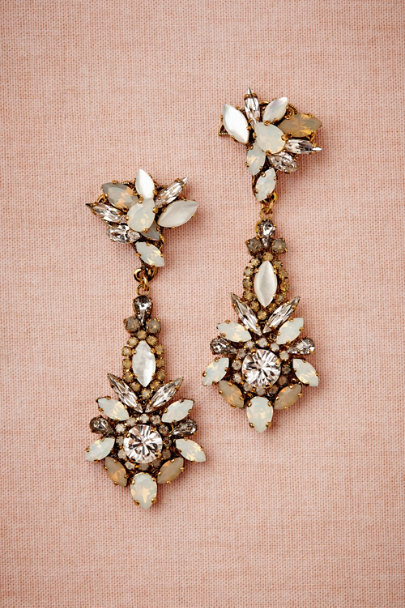 Erickson Beamon white opal Neutral Shine Chandeliers | BHLDN