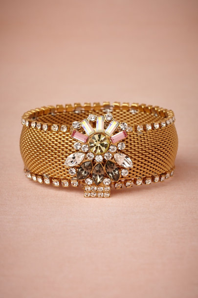 Debra Moreland gold Jewel Trove Cuff | BHLDN