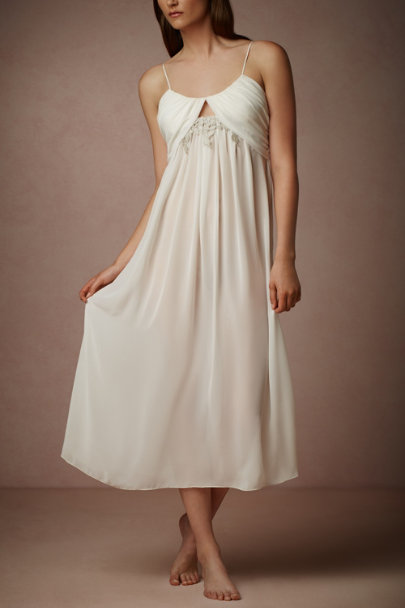 ivory Lace Window Chemise | BHLDN
